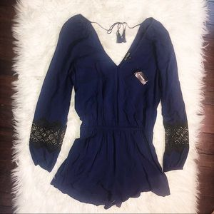 Altar'd State | Lace Romper | NWT